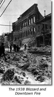 The 1938 Downtown Marquette Blizzard and Fire