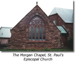 The Morgan Chapel, St. Paul's Episcopal Church