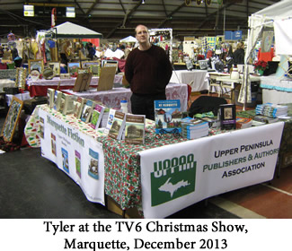 Tyler at the TV6 Christmas Show, Marquette, December 2013