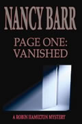 Page One: Vanished by Nancy Barr