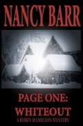 Page One: Whiteout by Nancy Barr