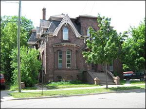 Adams house - 200 Ridge Street